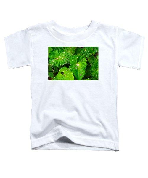 Big Green Leaves Toddler T-Shirt