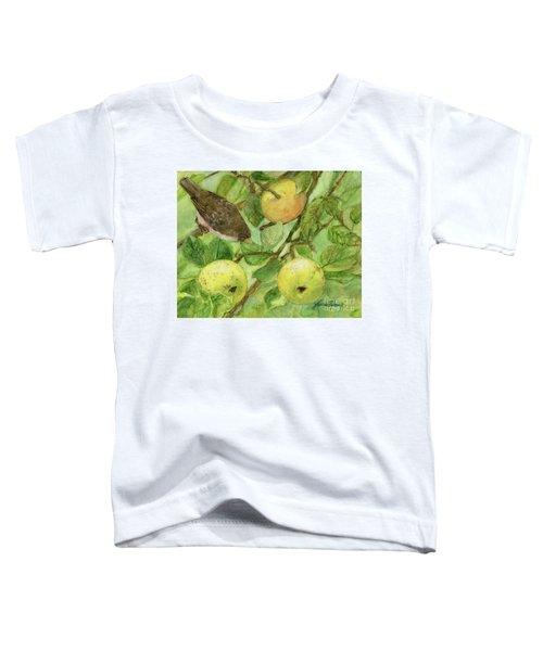 Bird And Golden Apples Toddler T-Shirt