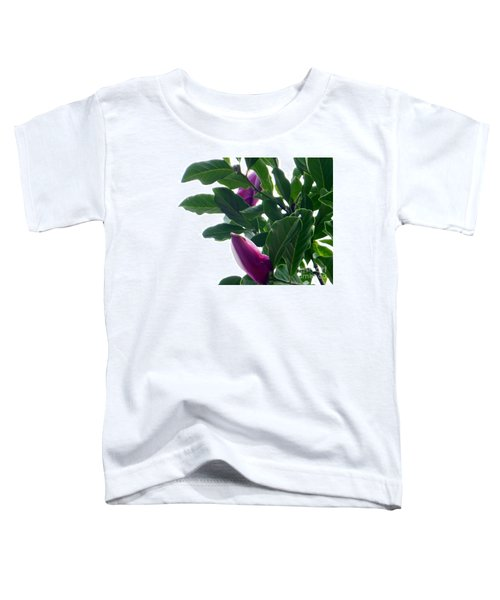 Blossoming Magnolias Toddler T-Shirt