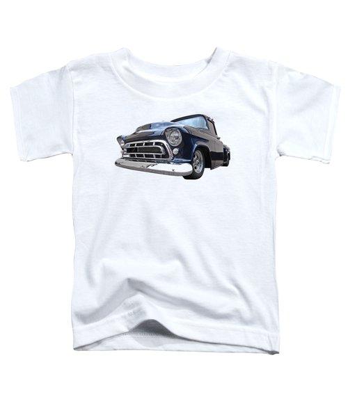 Blue 57 Stepside Chevy Toddler T-Shirt