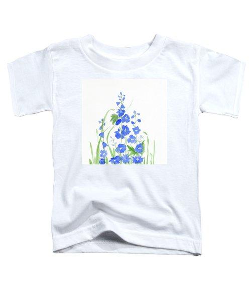 Blue Larkspur  Toddler T-Shirt