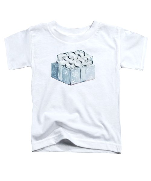 Blue Present Toddler T-Shirt