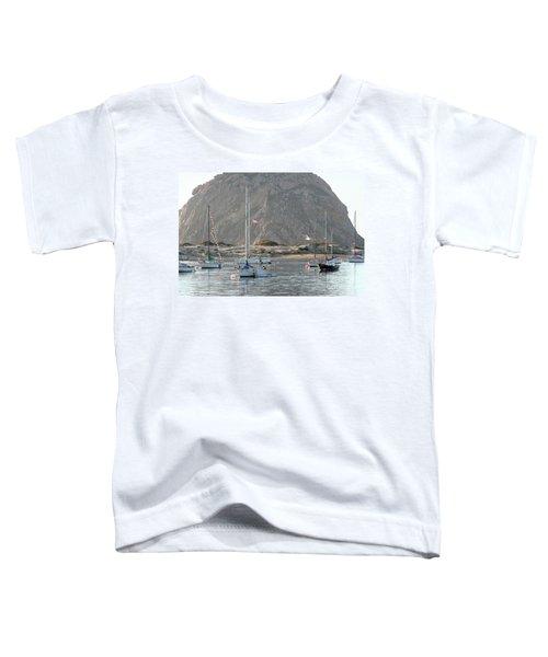 Boats In Morro Bay Toddler T-Shirt