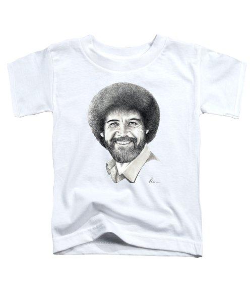 Bob Ross Toddler T-Shirt