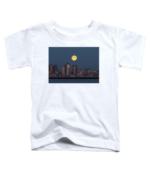 Boston Moonset Toddler T-Shirt