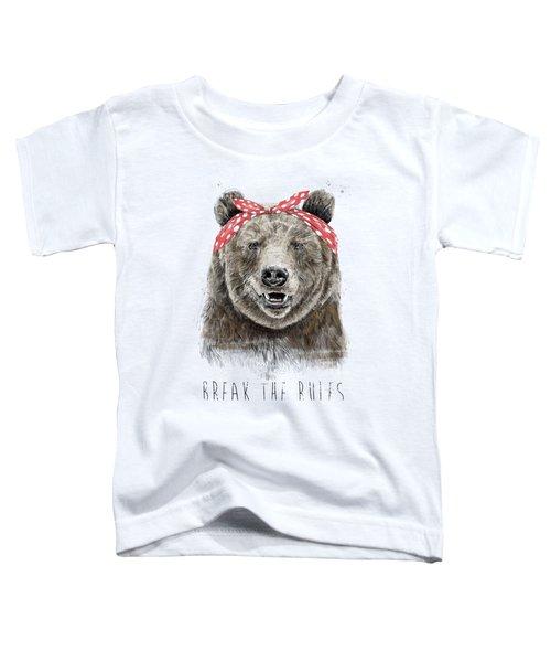 Break The Rules Toddler T-Shirt