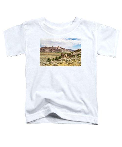 Breathtaking Wyoming Scenery Toddler T-Shirt