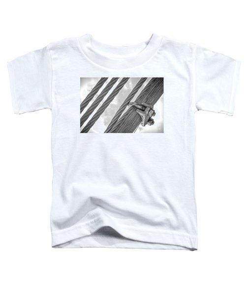 Bridge Cables Toddler T-Shirt