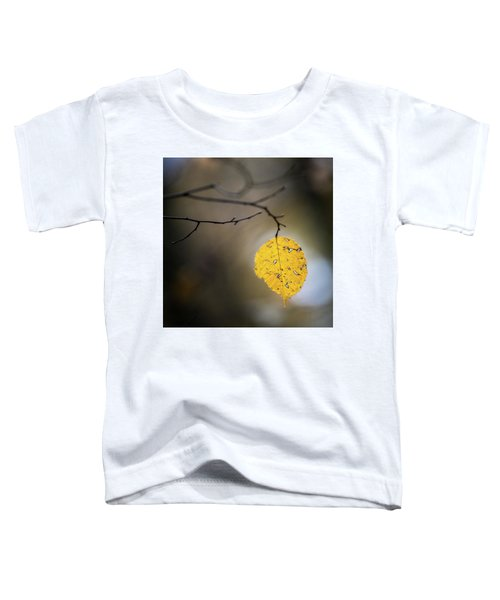 Bright Fall Leaf 7 Toddler T-Shirt