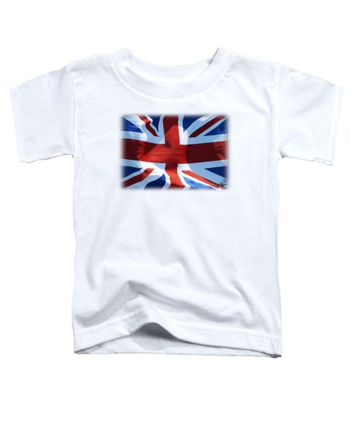 British Union Jack Flag T-shirt Toddler T-Shirt