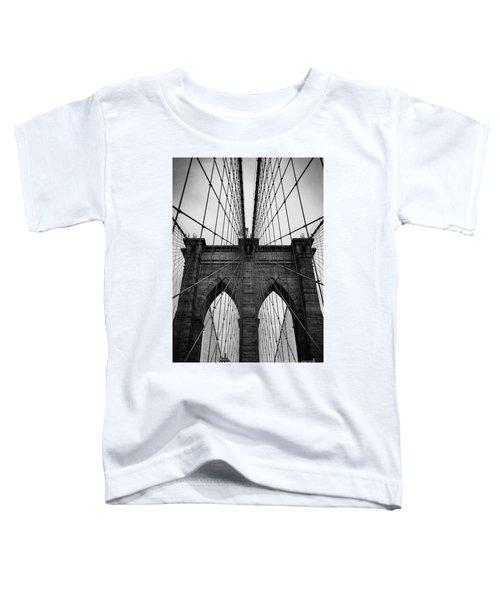 Brooklyn Bridge Wall Art Toddler T-Shirt
