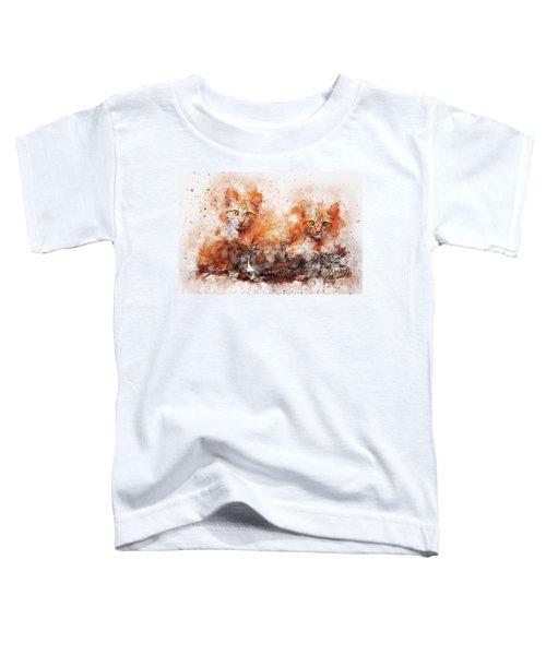 Brothers Cat Toddler T-Shirt