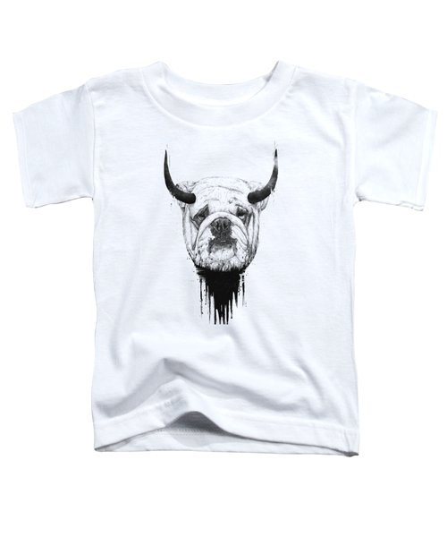 Bull Dog Toddler T-Shirt