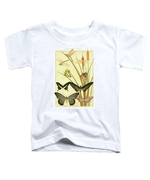 Butterflies By Maurice Pillard Verneuil Toddler T-Shirt