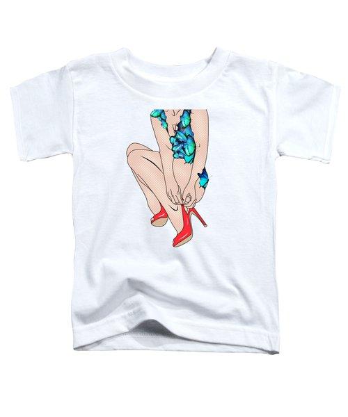 Butterfly Dress Toddler T-Shirt