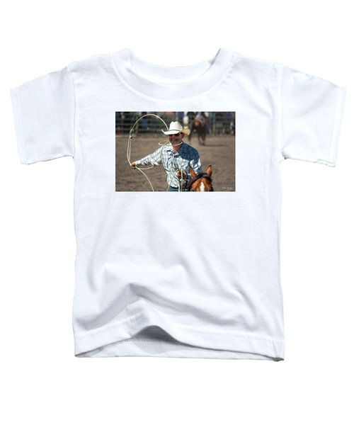 Calf Roper Toddler T-Shirt