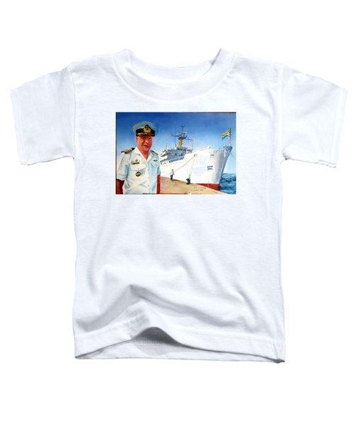 Capt Glen Hallett Toddler T-Shirt