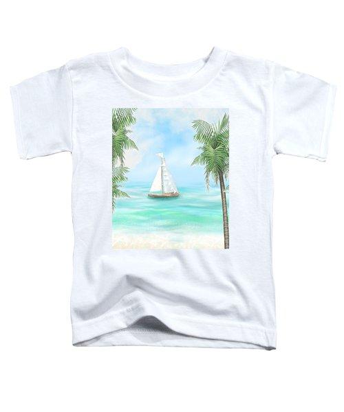 Carribean Bay Toddler T-Shirt