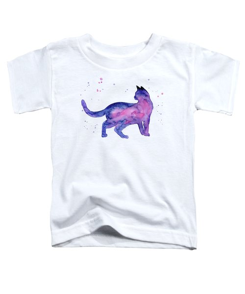 Cat In Space Toddler T-Shirt