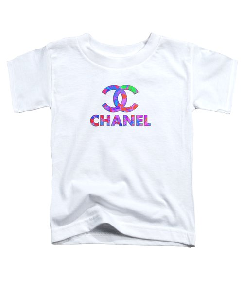 Chanel Paint Design Toddler T-Shirt