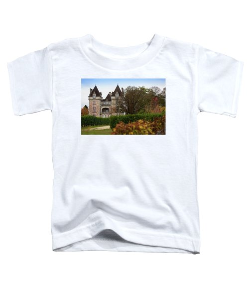 Chateau, Near Beynac, France Toddler T-Shirt