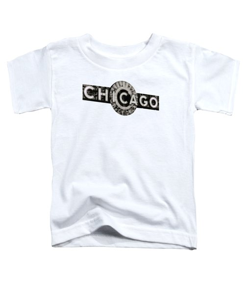 Chicago Theater Marquee - T-shirt Toddler T-Shirt