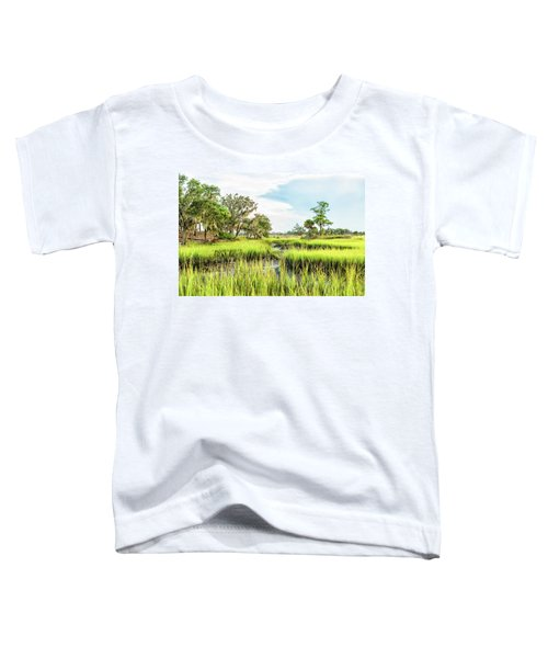Chisolm Island - Marsh At Low Tide Toddler T-Shirt