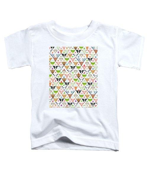 Christmas Pattern Toddler T-Shirt