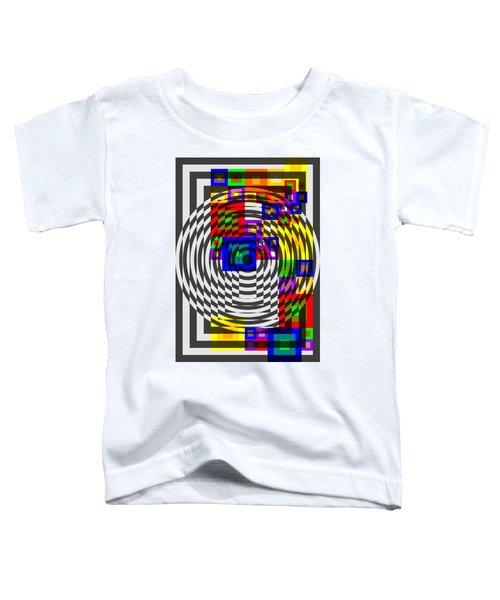 Circular Colour Fusion  Toddler T-Shirt