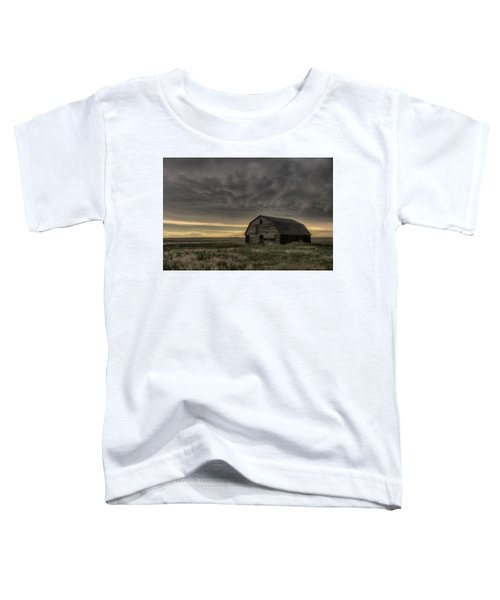 Clouds And Barn Toddler T-Shirt