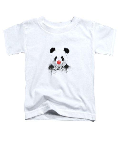 Clown Panda Toddler T-Shirt