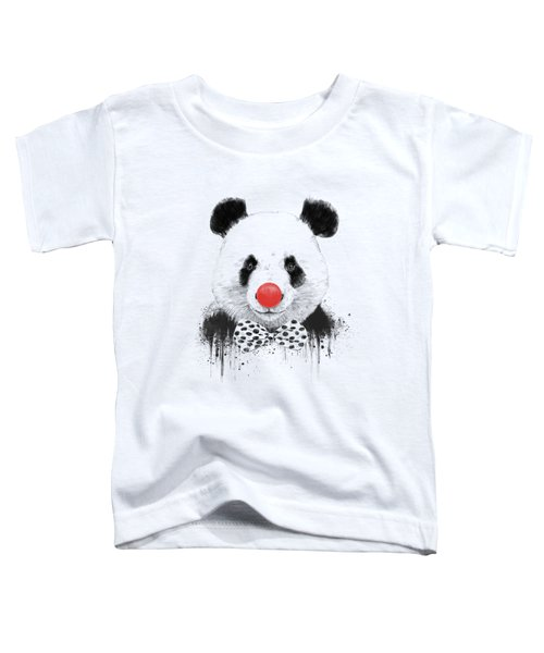 Clown Panda Toddler T-Shirt
