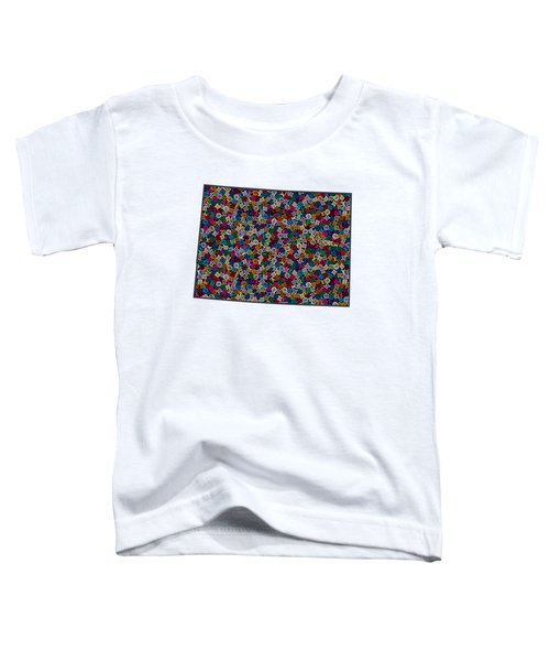 Colorado Map - 1 Toddler T-Shirt