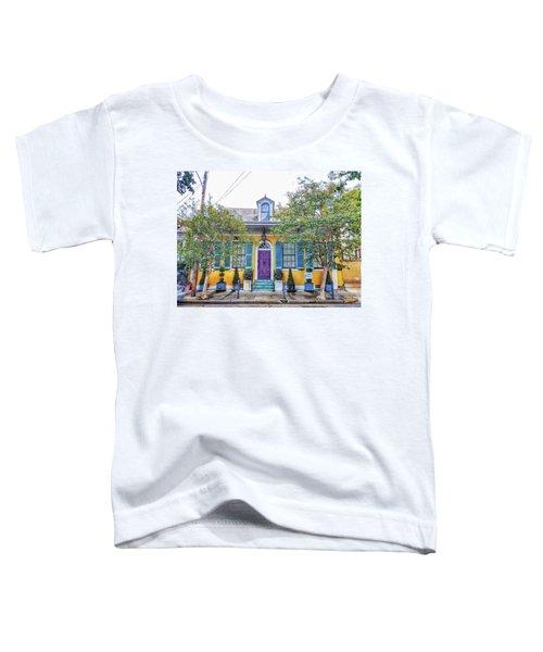 Colorful Nola Toddler T-Shirt