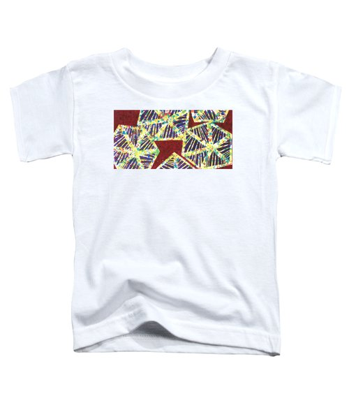 Colourful Webs  Toddler T-Shirt