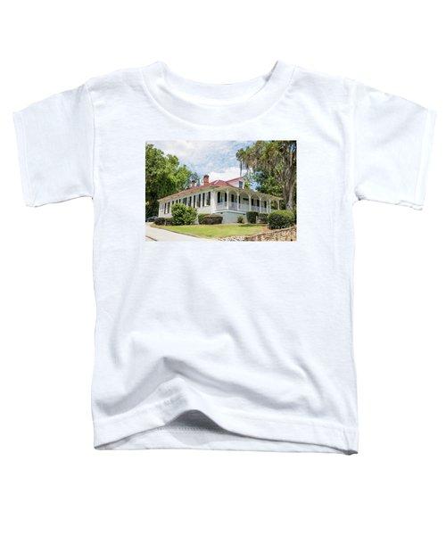 Columbia County Visitors Center - Savannah Rapids Toddler T-Shirt