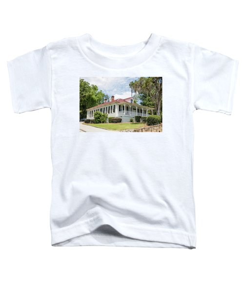 Columbia County Visitors Center - Savannah Rapids Toddler T-Shirt