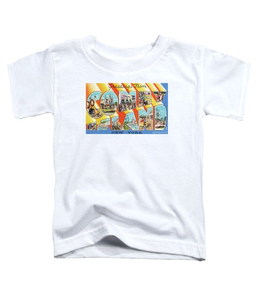 Coney Island Greetings - Version 1 Toddler T-Shirt