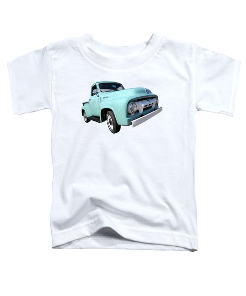 Cool As Ice - 1954 Ford F-100 Glacier Blue Toddler T-Shirt