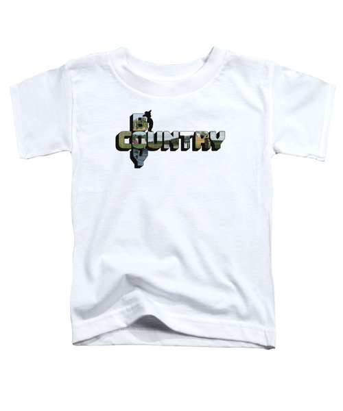 Country Boy Big Letter Toddler T-Shirt