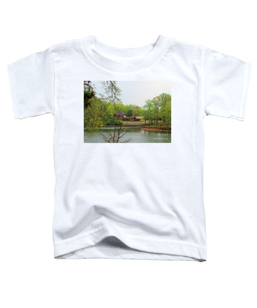 Country Living On The Tennessee River Toddler T-Shirt