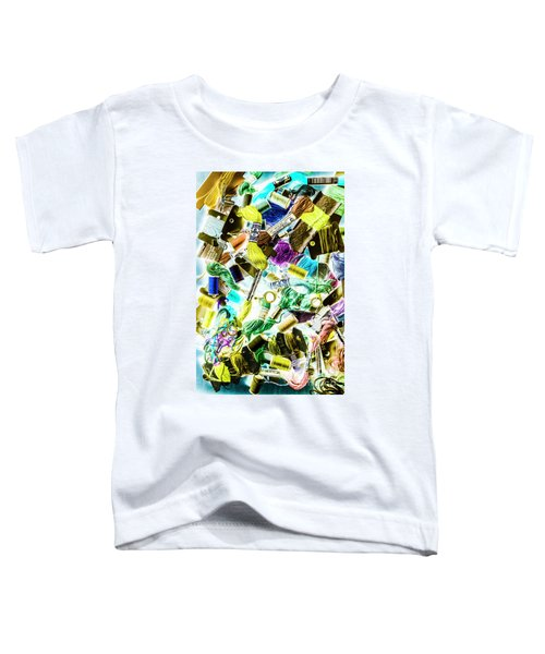 Crafted In Retro Toddler T-Shirt