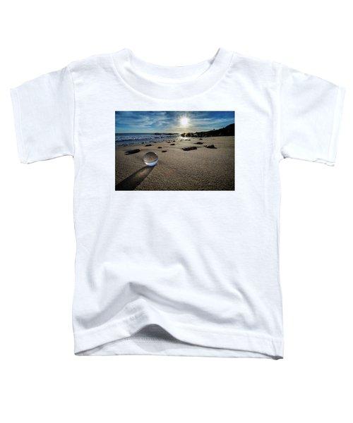 Crystal Ball Sunset Toddler T-Shirt