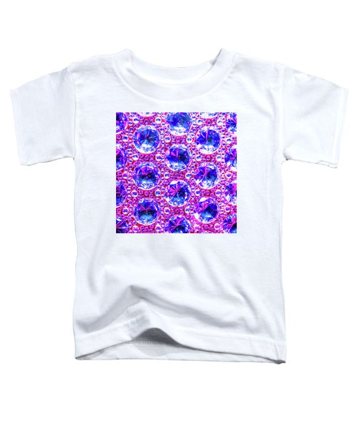 Cut Glass Beads 4 Toddler T-Shirt