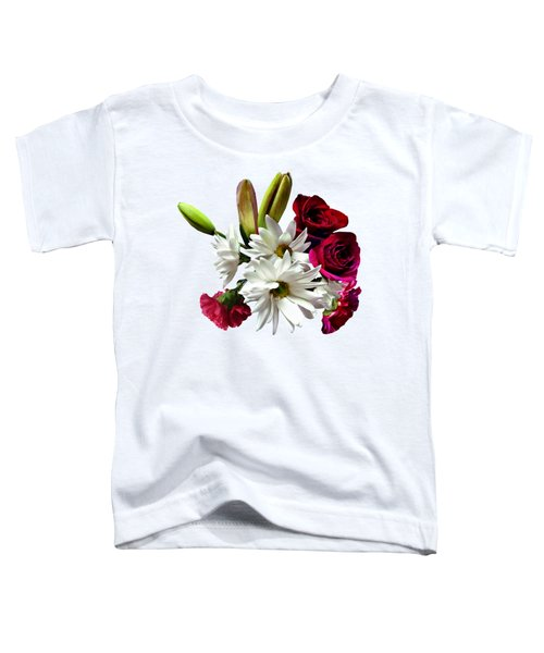 Daisies, Roses And Carnations Toddler T-Shirt