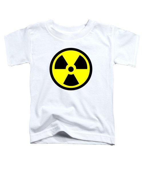 Danger Radiation Sign - Efb256 Toddler T-Shirt