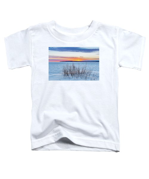 Daybreak Over East Bay Toddler T-Shirt