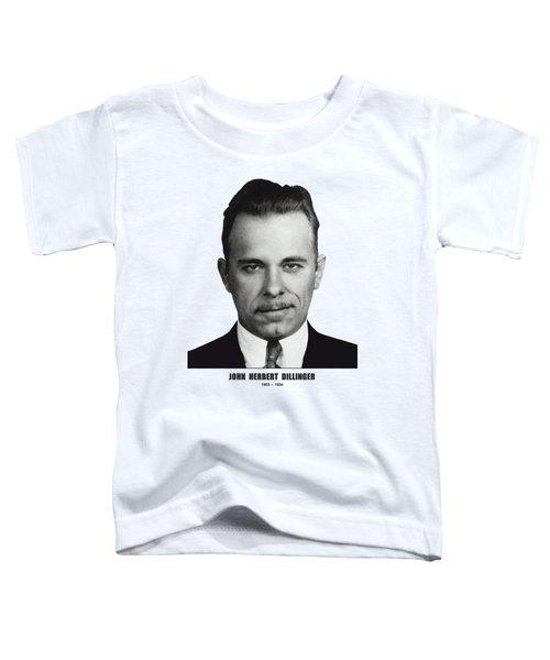 Dillinger Mugshot Version 2 - T-shirt Toddler T-Shirt