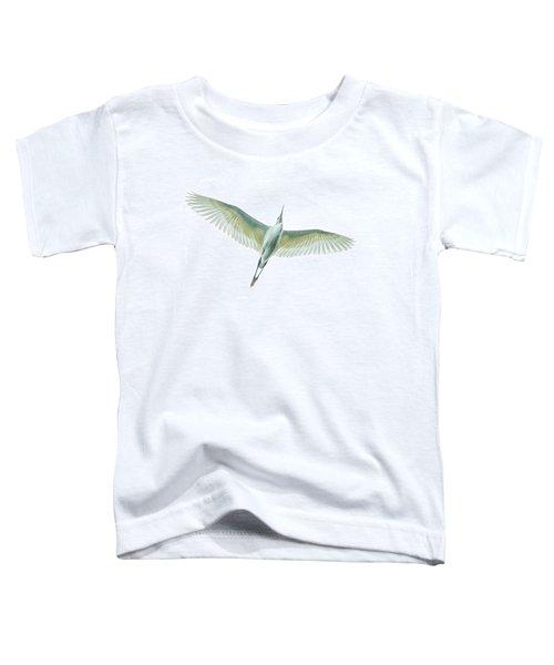 Dimorphic Egret Egretta Dimorpha Toddler T-Shirt