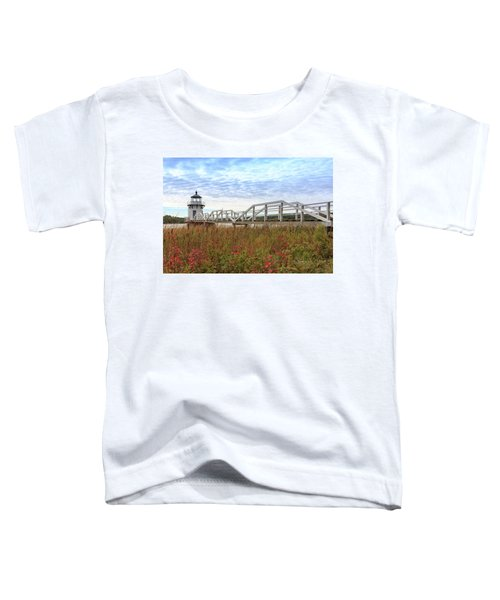 Doubling Point Lighthouse In Maine Toddler T-Shirt